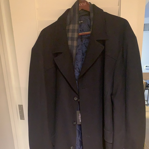 Kenneth Cole Other - Kenneth Cole Earl Short Coat with Removable Scarf